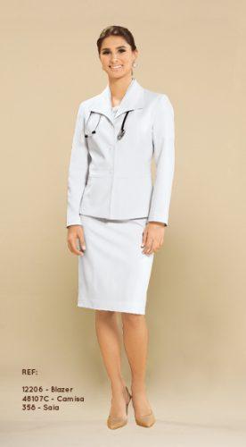 uniforme social clássico