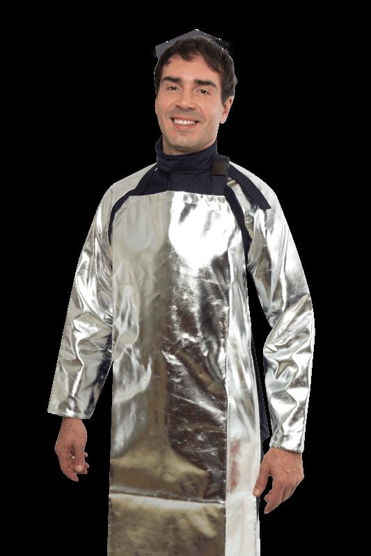 vestimenta de proteção metas líquidos
