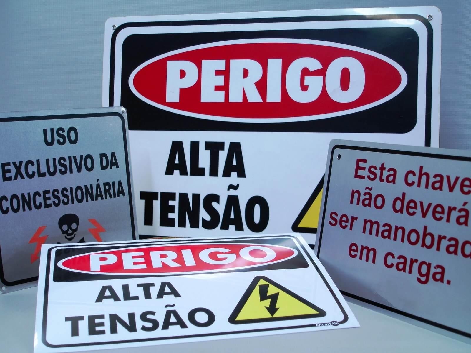 grafica especializada em sinalização de segurança